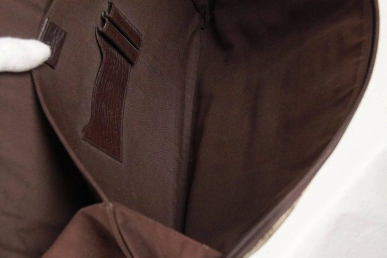 GUCCI Brown GG MONOGRAM Canvas PORTFOLIO Document Holder 6