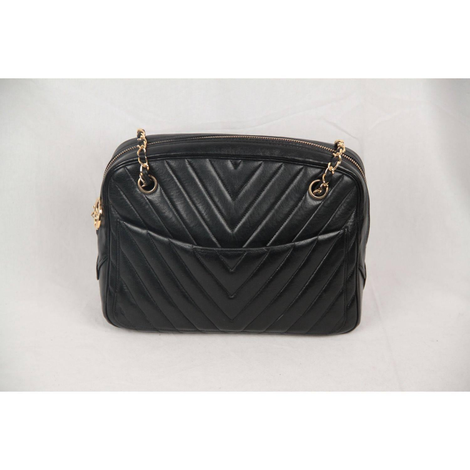 leather products authentic quilted bag black chanel boston handbags speedy quilt ghw vintage