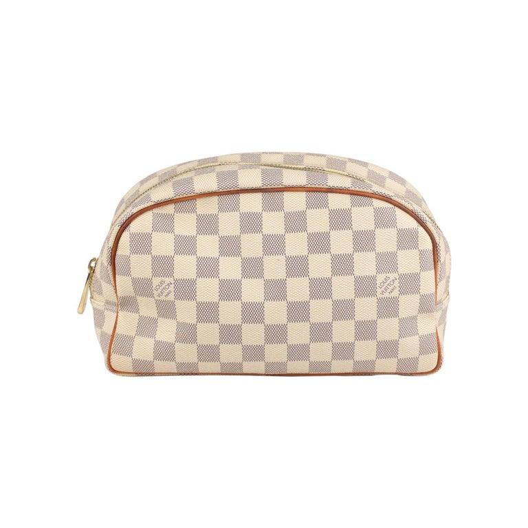 Louis Vuitton Damier Azur Canvas Toiletry Bag 25 For