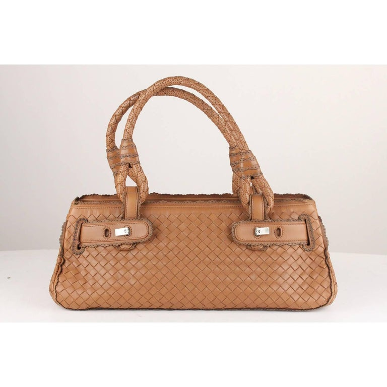 BOTTEGA VENETA - Made in Italy  engraved on leather inside - Authenticity  label with 7e0993358bd26