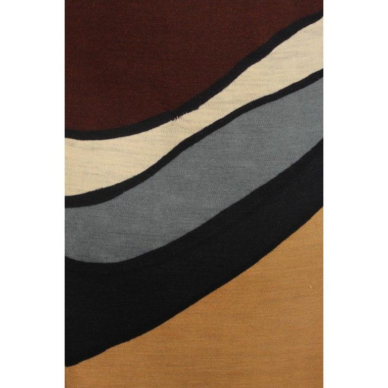 d00d234ddafdd0 Braunes langärmeliges Vintage Kleid von Roberta Di Camerino, Größe 46 6