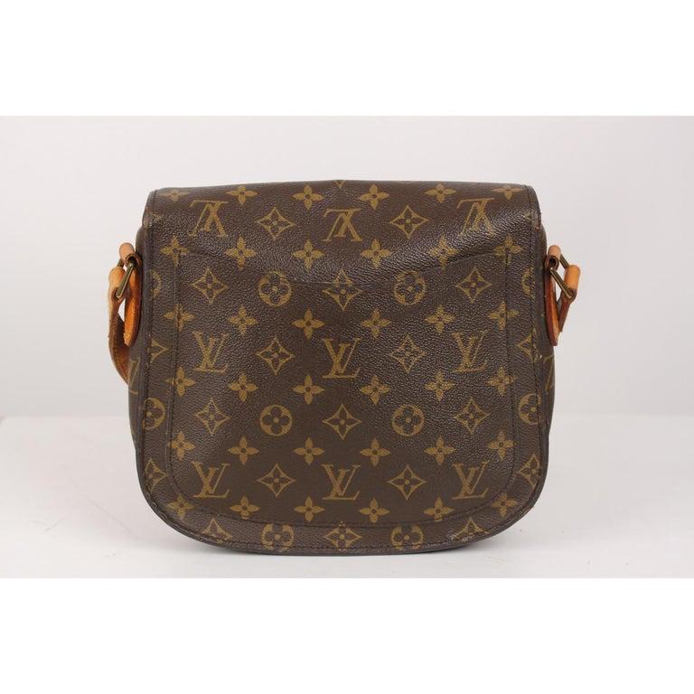 3b7da7508084 Louis Vuitton Vintage Monogram Canvas Saint Cloud GM Messenger Bag For Sale  1