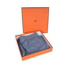 HERMES PARIS Cashmere Blend JOGGING SHORTS Pants TROUSERS clothing w/ BOX