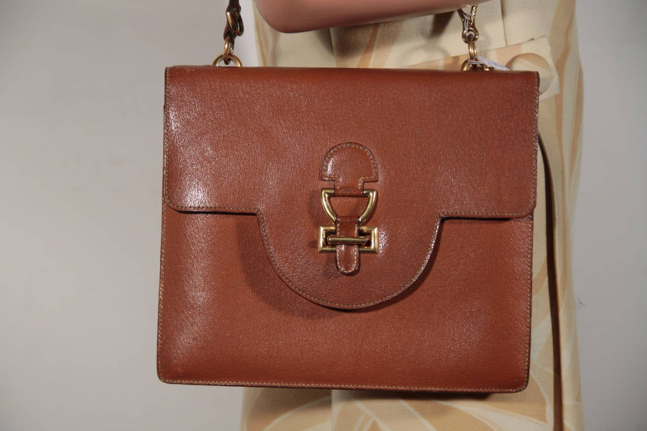 red and black handbags - HERMES PARIS Vintage 1960s Tan Leather FLAP SHOULDER BAG Handbag ...