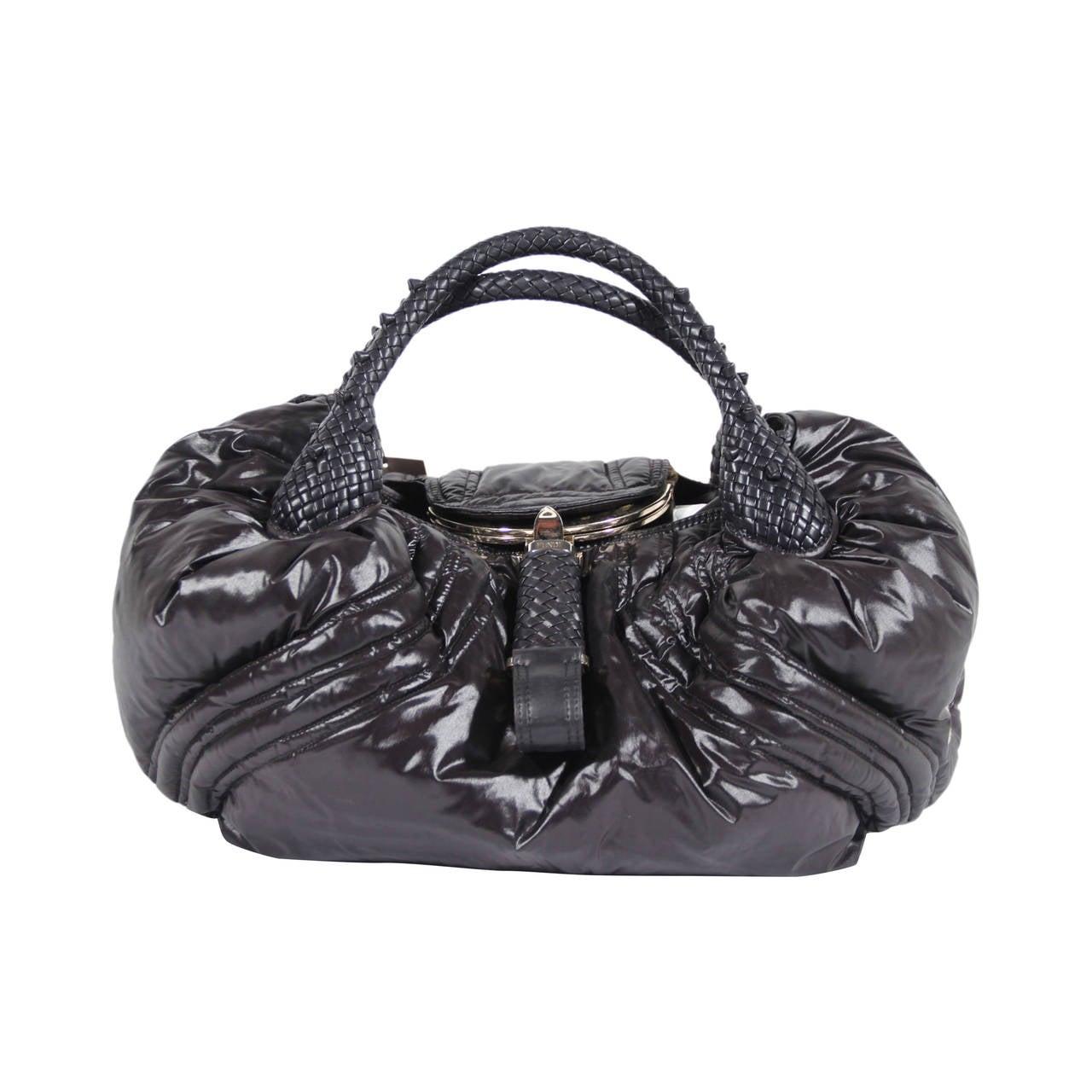 0974d90a5b02 FENDI LIMITED EDITION Black Nylon MONCLER SPY BAG Handbag HOBO For Sale 1  of 5 images. Brand  FENDI - Made in Italy Logos   Tags  ...