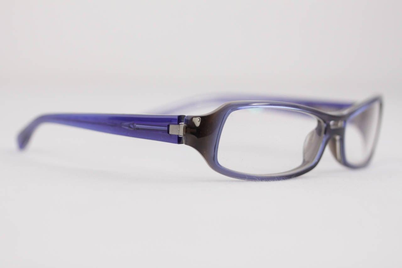 Alain Mikli Starck Blue Eyeglasses Biocity P0655 54 14 125