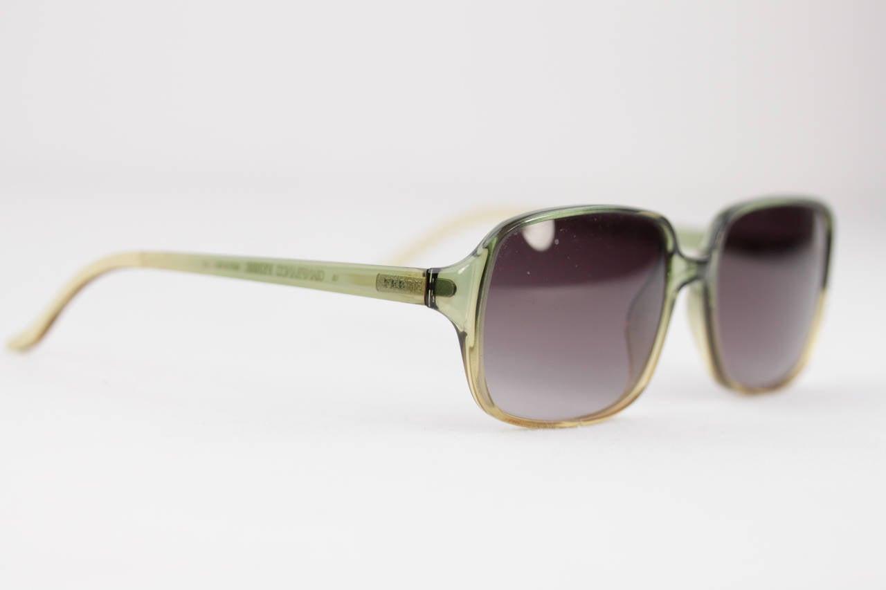 Ferre Sunglasses  gianfranco ferre vintage sunglasses gf583 green optyl frame uni