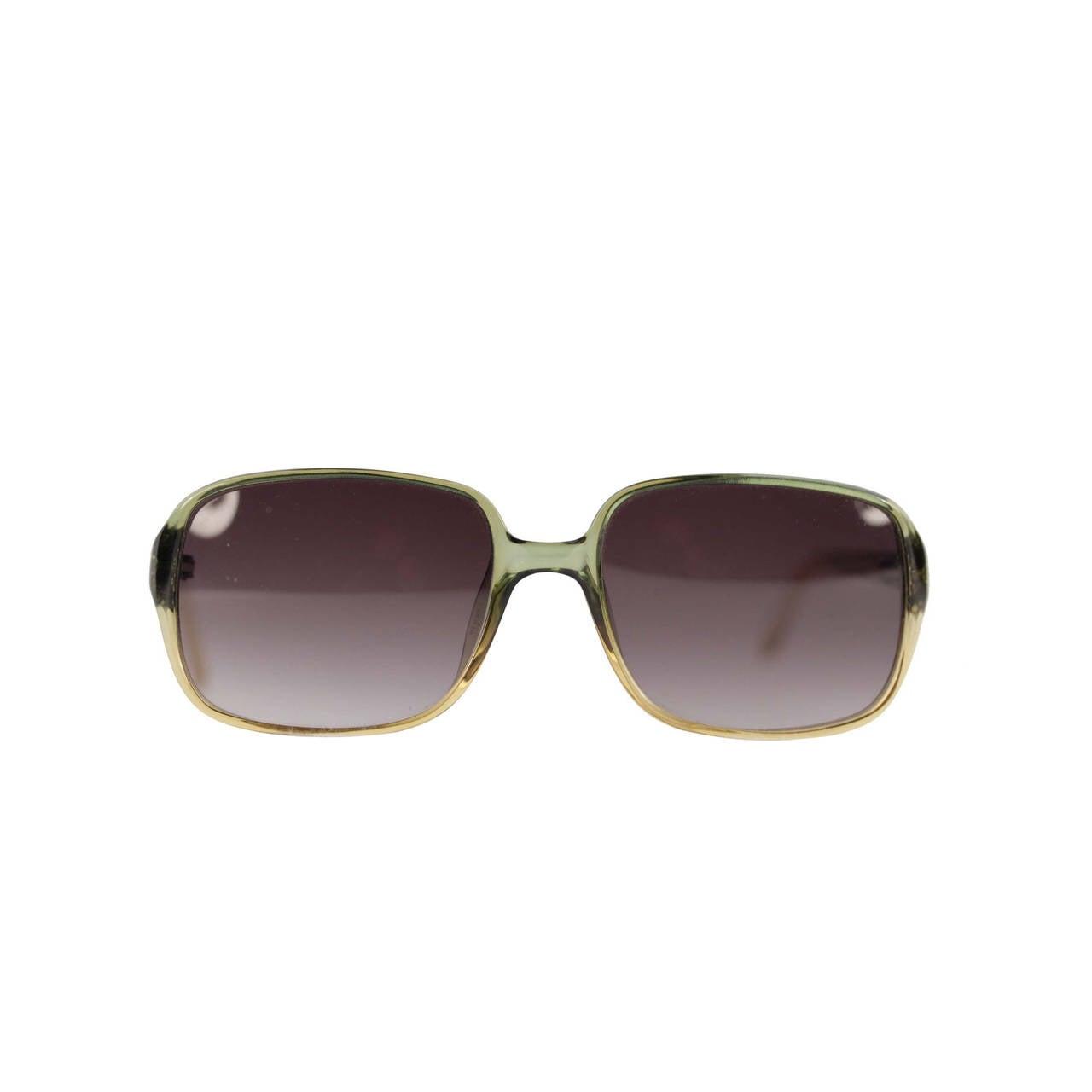 GIANFRANCO FERRE Vintage Sunglasses GF583 GREEN OPTYL ...