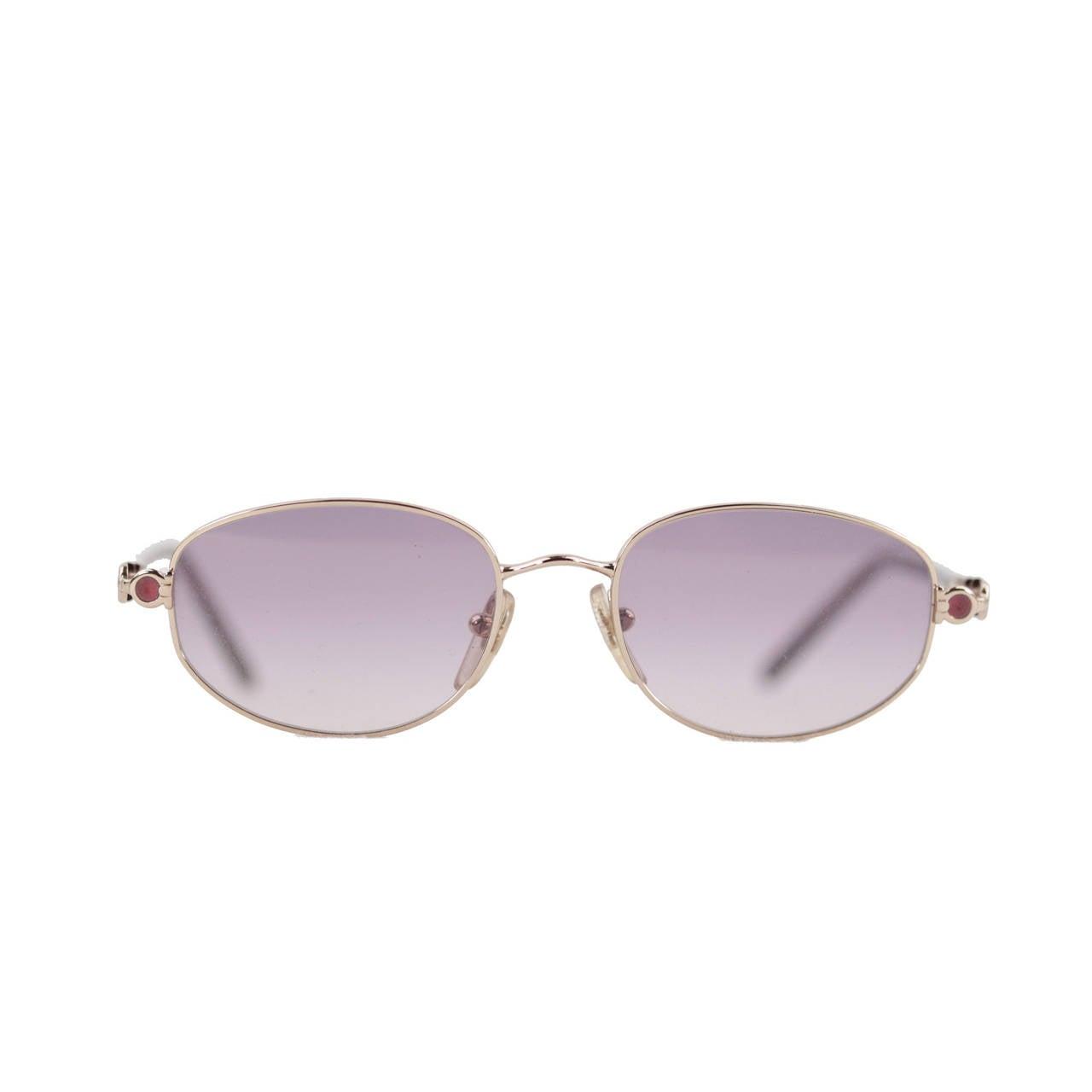 SALVATORE FERRAGAMO vintage SUNGLASSES 1546 599 51/18 130 Gancini Eyewear