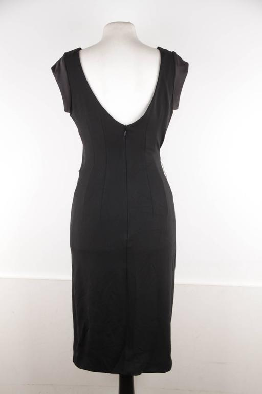 Online Shopping Classic Versace Woman Layered Stretch-knit Dress Black Size 40 Versace pEkw2SI1