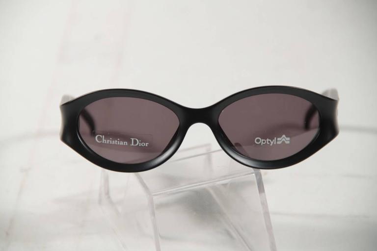 146adac74b58 CHRISTIAN DIOR Matte Black SUNGLASSES Optyl GAELLE 94J 52 18 125 eyewear  w Case