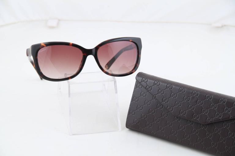 d10fd9421829 Spring/Summer 2014 eyewear collection - Bamboo details on temples - Brown  tortoise frame