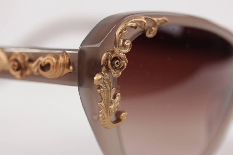 7b501bdf5b9 Dolce   Gabbana Dg4167 Sicilian Baroque Sunglasses Black