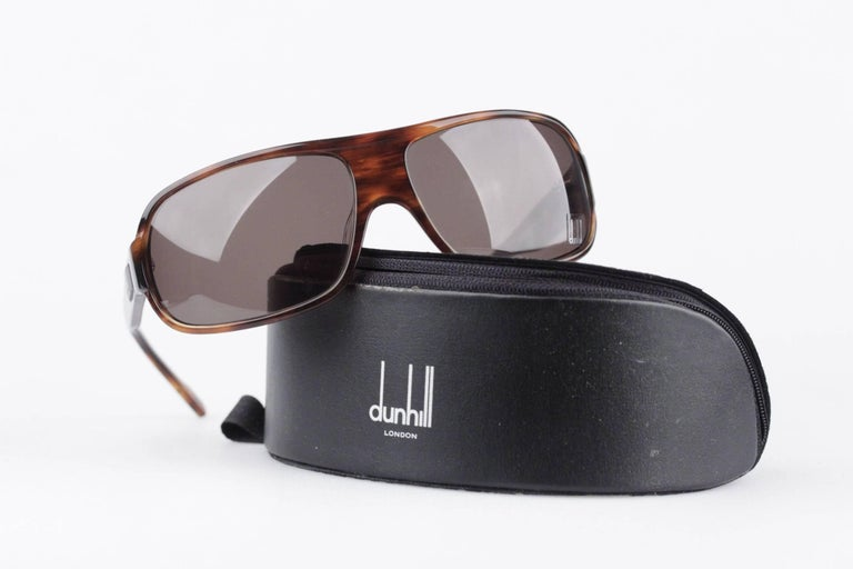 - DUNHILL sunglasses, model DU51503  - Wrap style - Original lens  - Braown tortoise acetate frame - OrigInal DUNHILL case included  Any other detail which is not mentioned may be seen on the item pictures. Please do ask if anything is not clear, of
