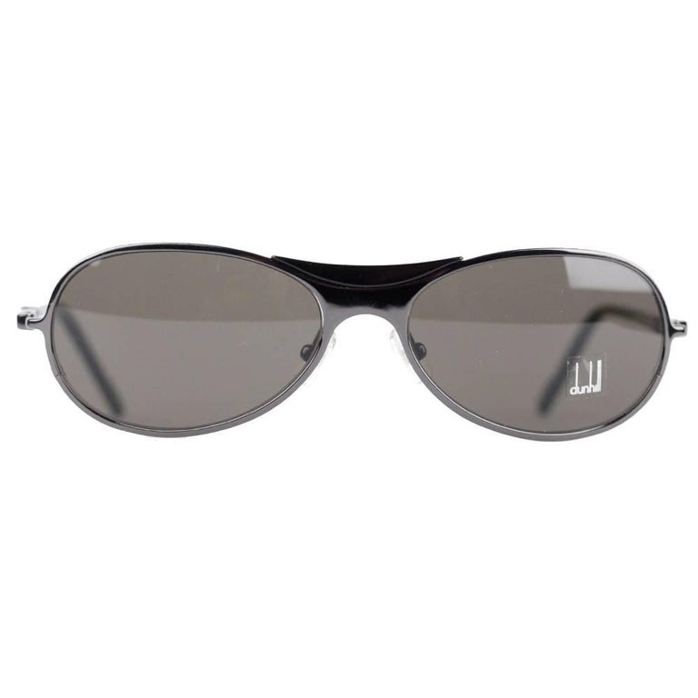 Authentic Dunhill Gray Unisex Sunglasses Mod. DU50902 57mm New Old Stock
