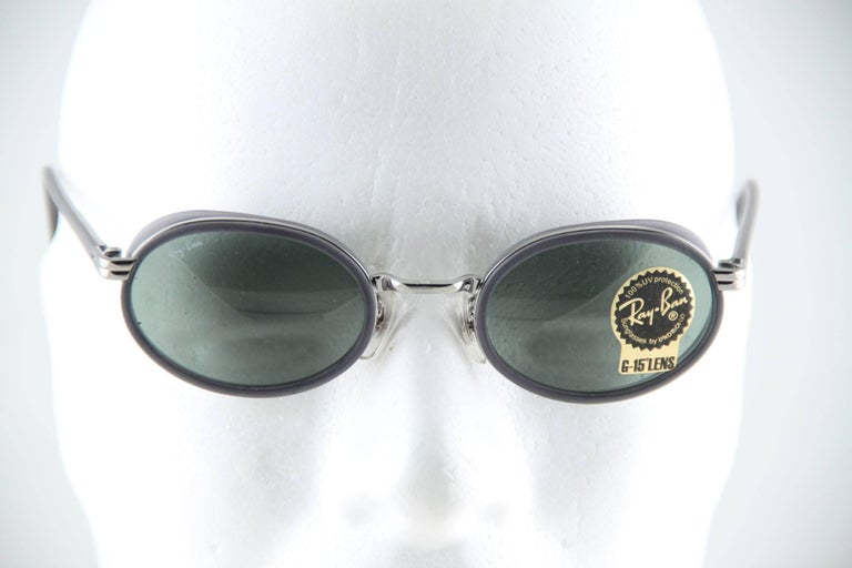 Ray Ban B Amp L Vintage Gray Mint Unisex Sunglasses Rb3037