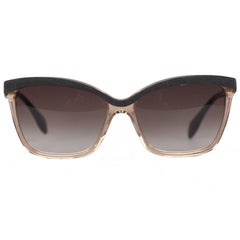 ALEXANDER MCQUEEN Black Nude Sunglasses AMQ 4219/S 58mm NEW & BOXED