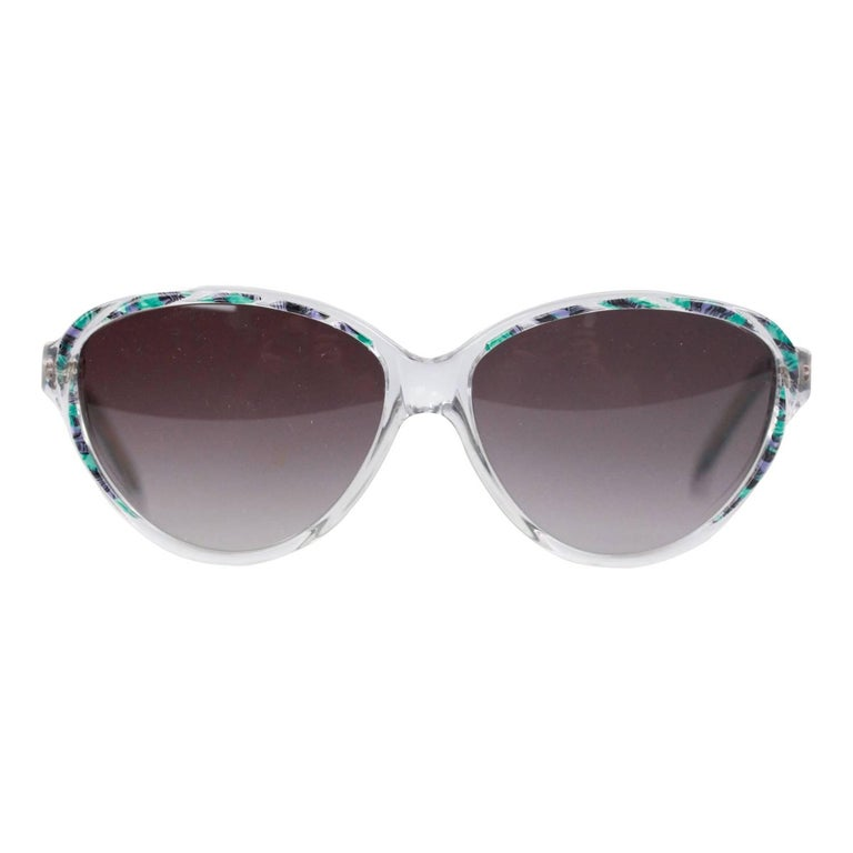 YVES SAINT LAURENT Vintage MINT Multicolor Sunglasses ARION 54mm