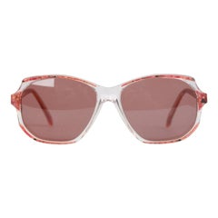 YVES SAINT LAURENT Vintage Marbled RED MINT Sunglasses NAXOS 825 56mm