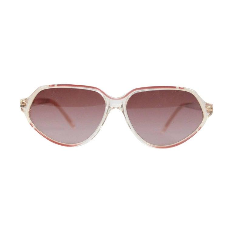 YVES SAINT LAURENT Vintage MINT womens Sunglasses HESTIA 56-12mm SMALL