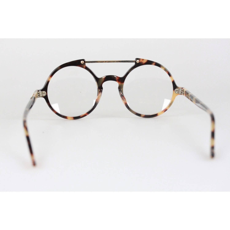 GIANNI VERSACE Vintage Eyeglasses ROUND Frame MOD 530 COL 961 45mm ...