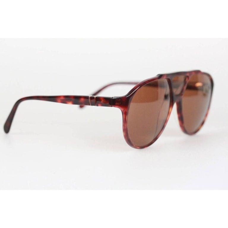 e2a5bc4431eb0 PERSOL RATTI Vintage Brown MINT RARE Sunglasses 802 137 24 MEFLECTO For  Sale 1
