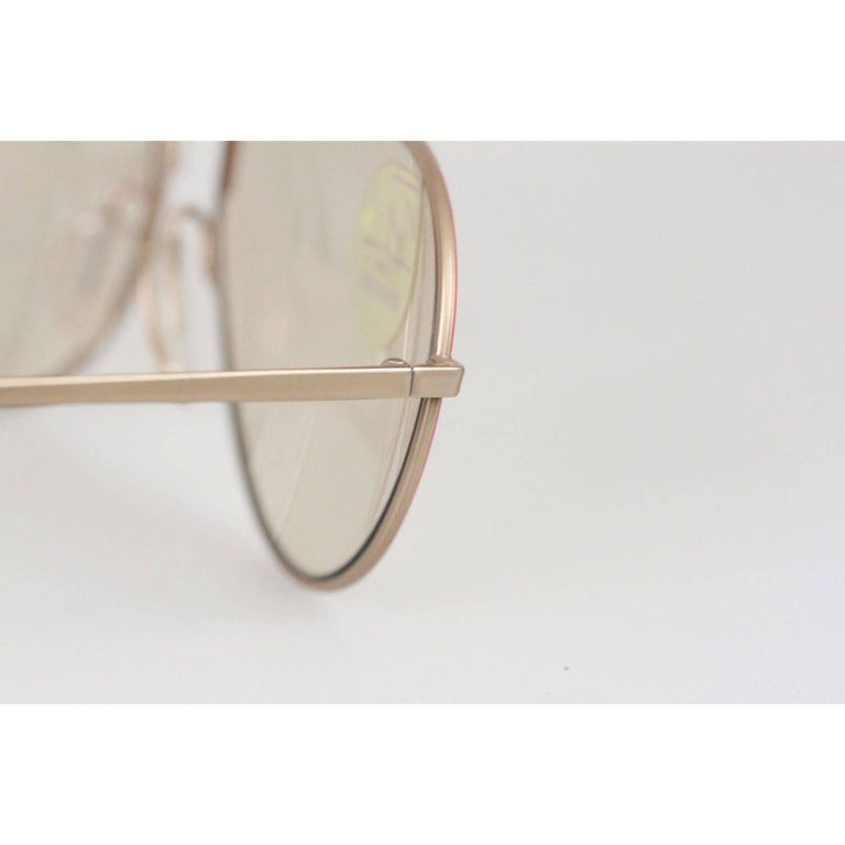 ZEISS Vintage Sunglasses MOD. 9357 2003 60/14 135 UMBRAMATIC Lenses RARE In New Condition For Sale In Rome, Rome