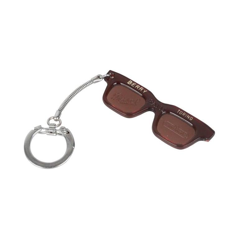 Persol Ratti Berry Torino Vintage Sunglasses Keyring Charm