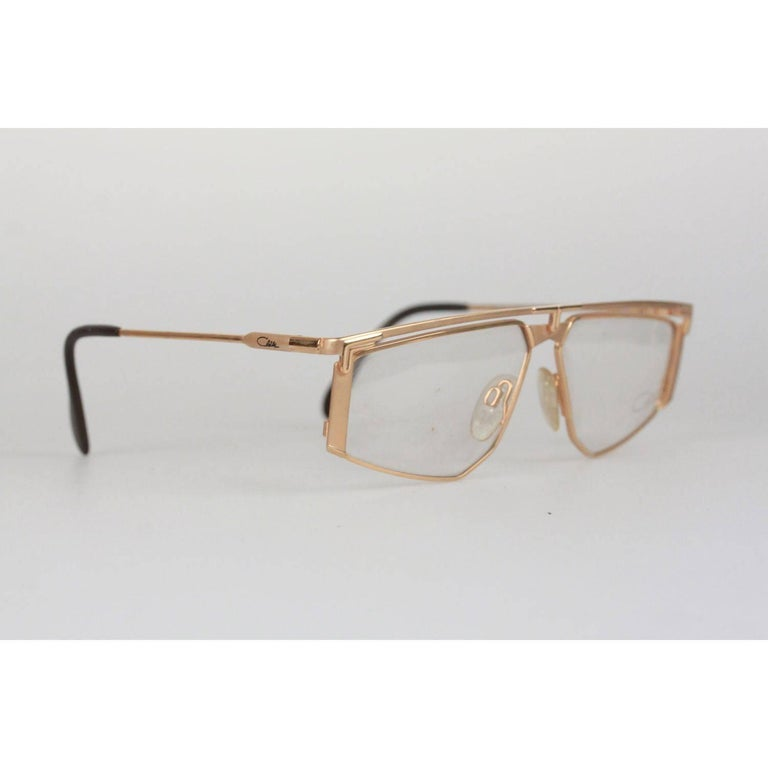 62f4724a12 Cazal Vintage titanium Eyeglasses 235 57mm West Germany Clear Lens ...