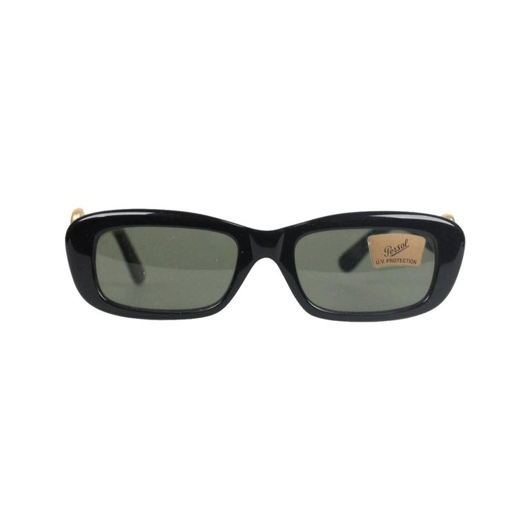 MOSCHINO by PERSOL Vintage Black MINT SUNGLASSES MC824 ...