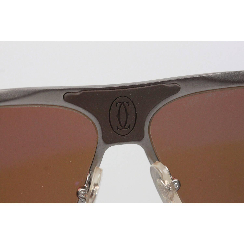 8335d56d675 Cartier Paris Sunglasses R Extreme Pilot T8200703 Polarized 61mm 130