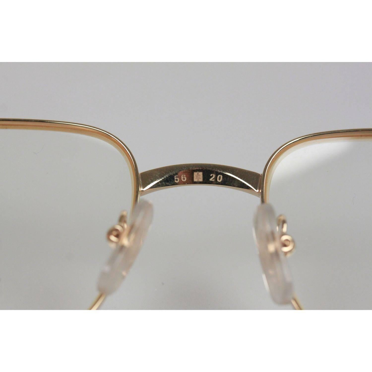 84f792eebf6 Cartier Half Rim Sunglasses Tan Wood Frame « One More Soul