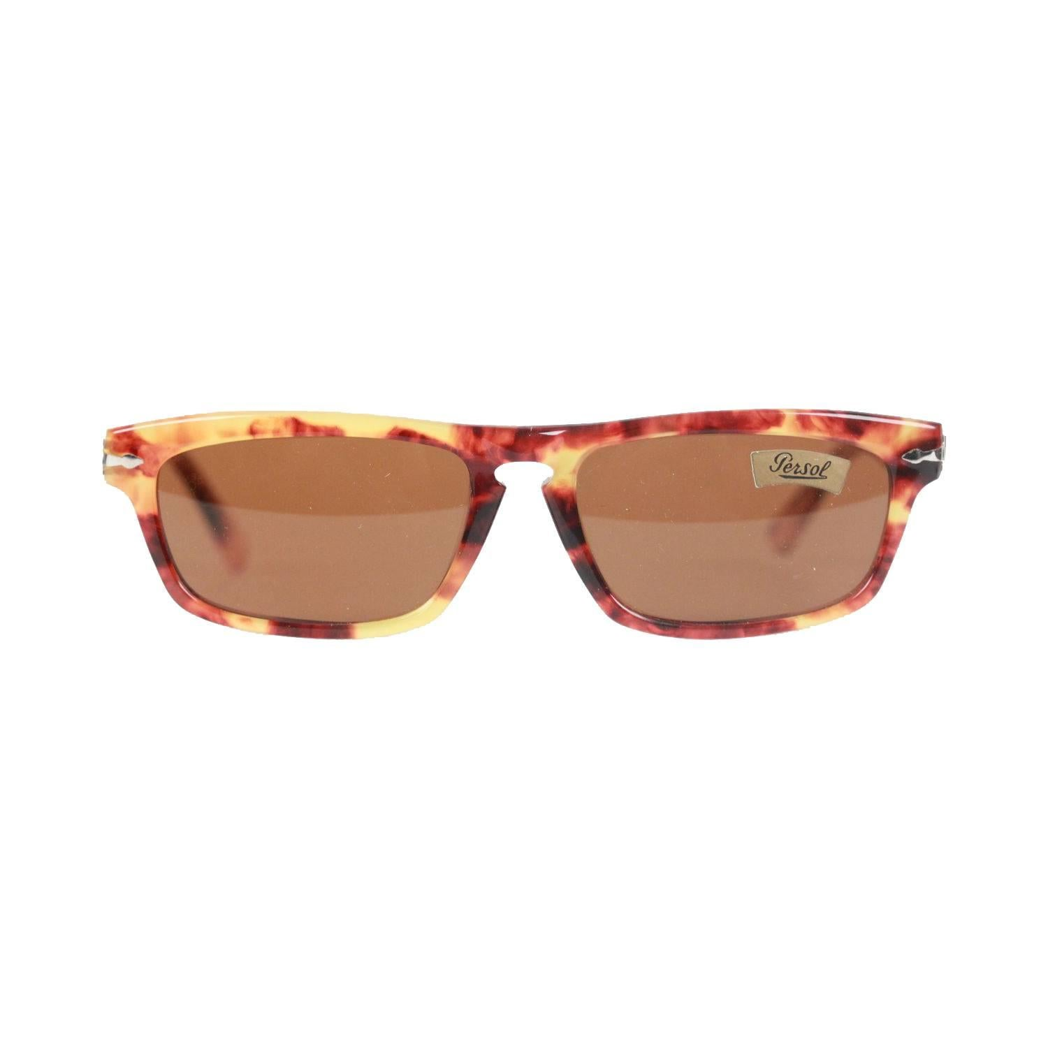 807c0a4b6f570 Persol Ratti Vintage Brown Meflecto PP 507 56mm Sunglasses For Sale at  1stdibs