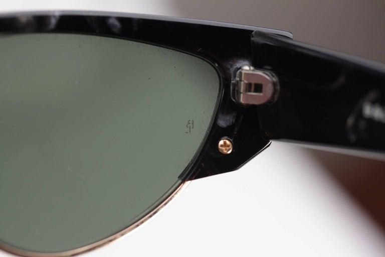 903caf31da27f Ray-Ban B L Vintage Black Onyx Olympic Games Sunglasses W1297 58mm For Sale  6