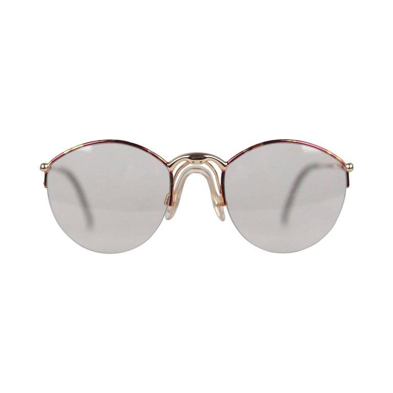 522a7cc1ec Porsche Design By Carrera Vintage Eyeglasses 5670 53-23 Large Frame For Sale  at 1stdibs