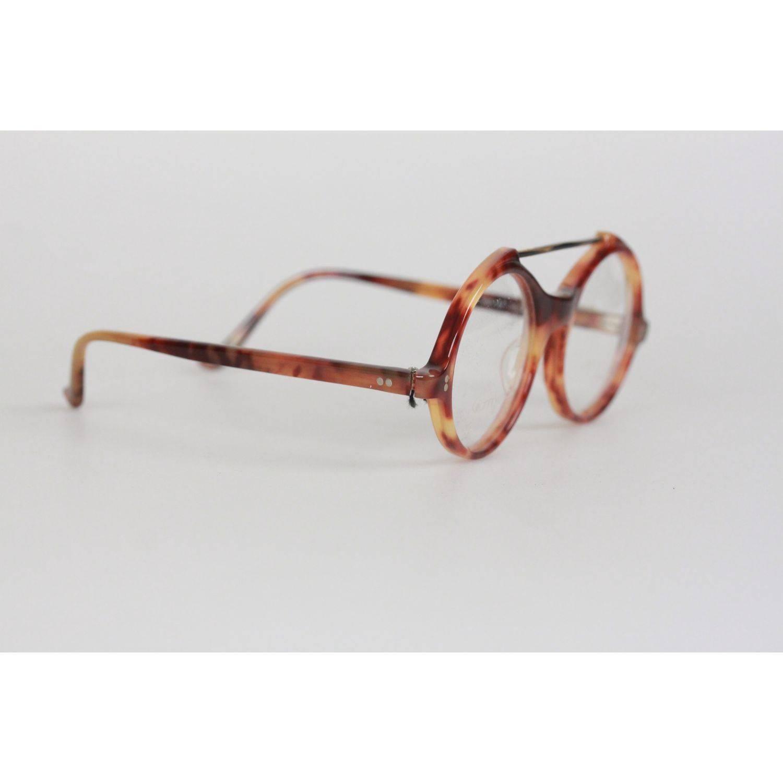 Gianni Versace Vintage Eyeglasses Round Frame MOD 530 COL 950 45mm ...