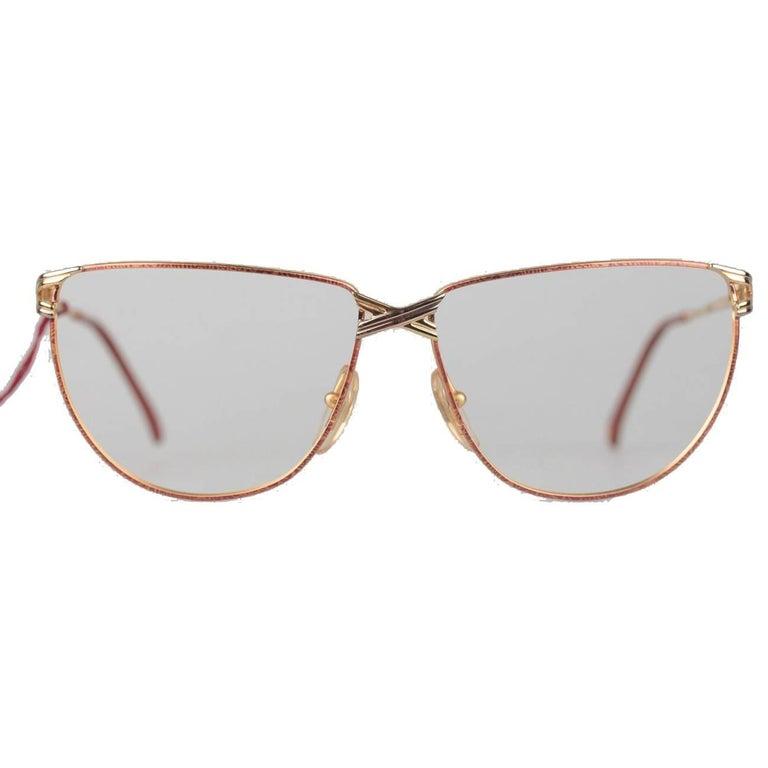 Casanova Vintage Gold Plated eyeglasses mod CN 4 C 01 54mm NOS