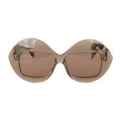 Serge Kirchhofer Vintage Oversized 467 Sunglasses, 1970s