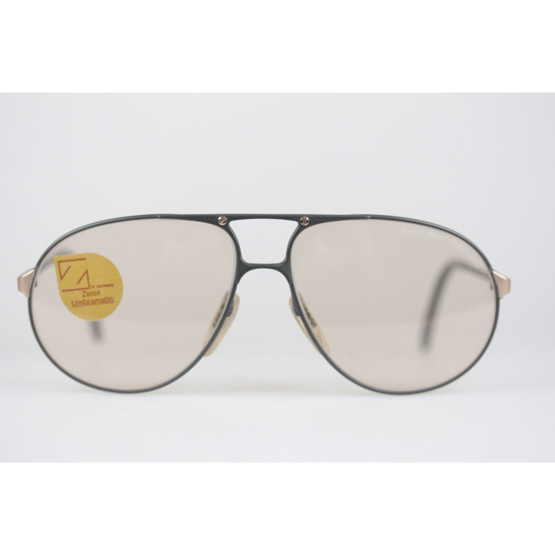 952d9d459 Zeiss Vintage Aviator Sunglasses 9289 Umbramatic Lenses New Old Stock For  Sale at 1stdibs