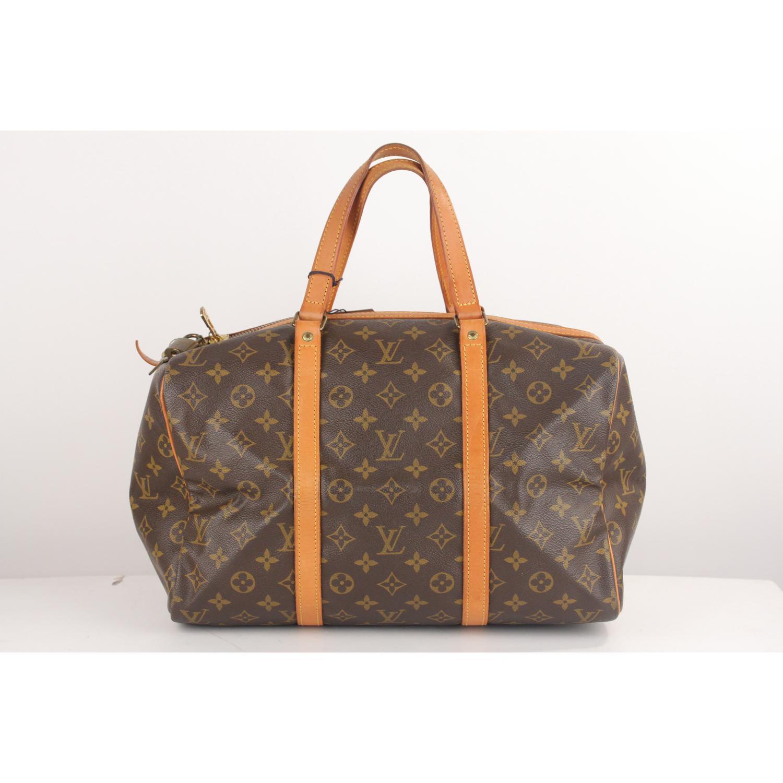 e62c69480 Louis Vuitton Vintage Brown Monogram Canvas Sac Souple 35 Bag at 1stdibs