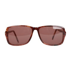 Yves Saint Laurent Vintage Brown Sunglasses Icare 59mm New Old Stock