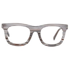 Alain Mikli Eyeglasses Striped Pattern Mod. A01348 54mm Never Worn