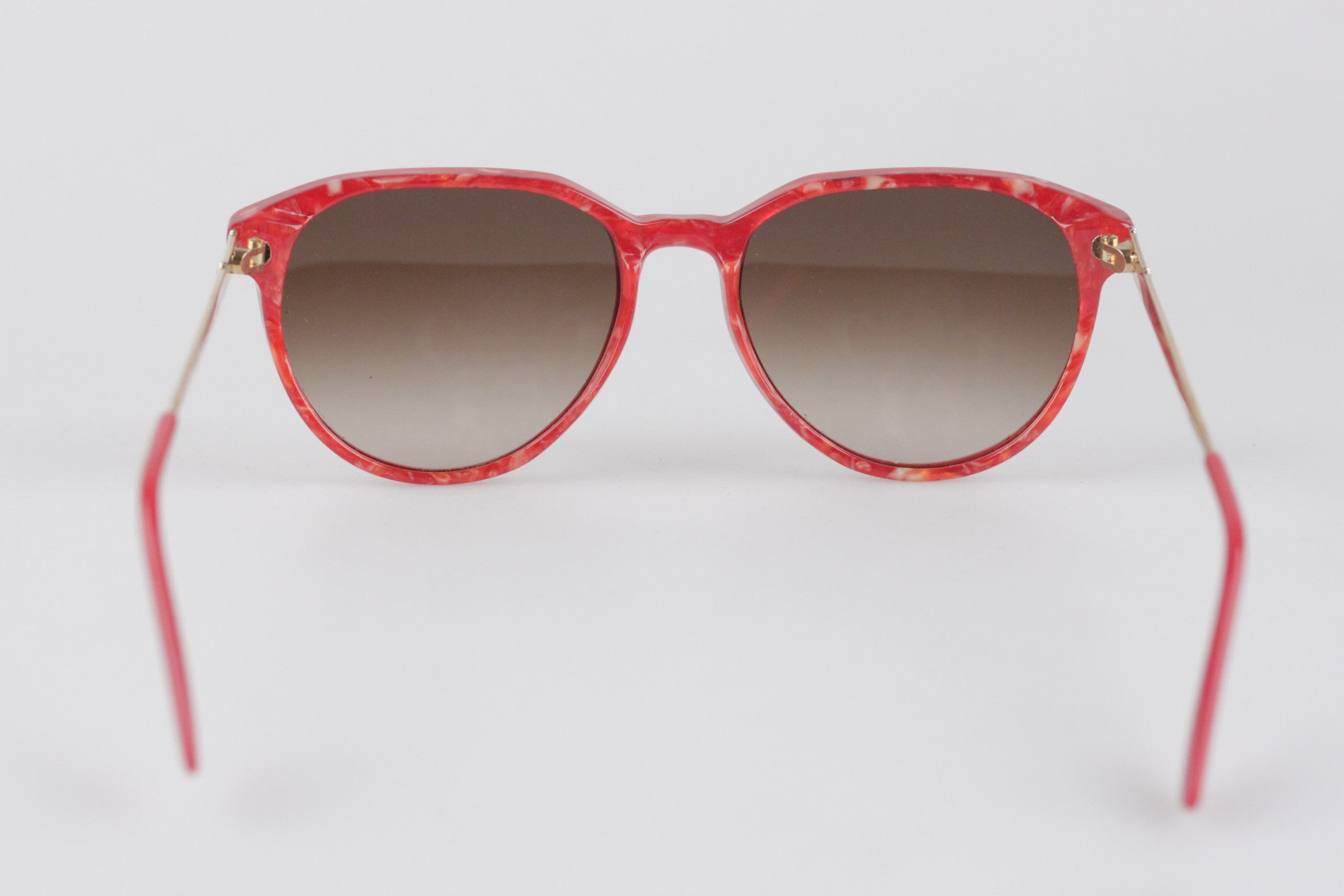2bac7c3f994 Yves Saint Laurent Vintage Red Sunglasses Mod Persephone New Old Stock For  Sale at 1stdibs