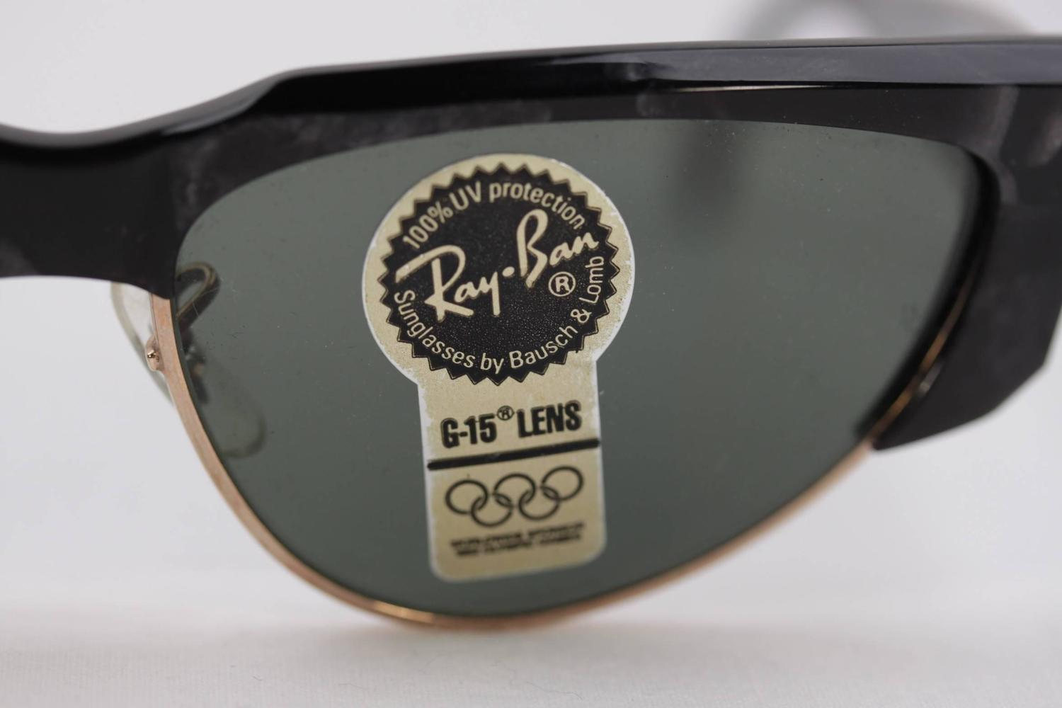 small ray ban logo sticker