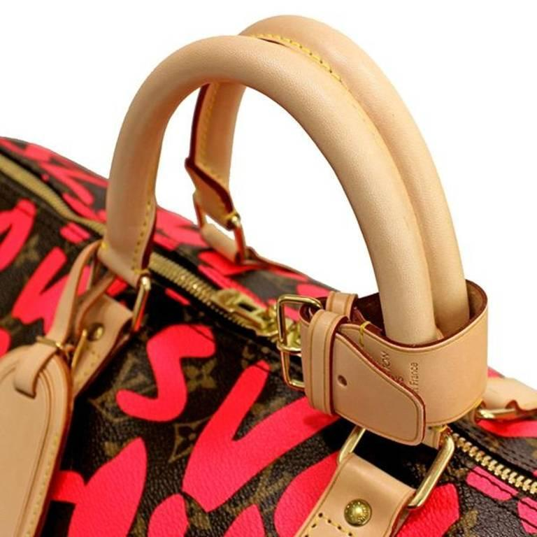 Louis Vuitton Monogram Graffiti Keepall 50 7