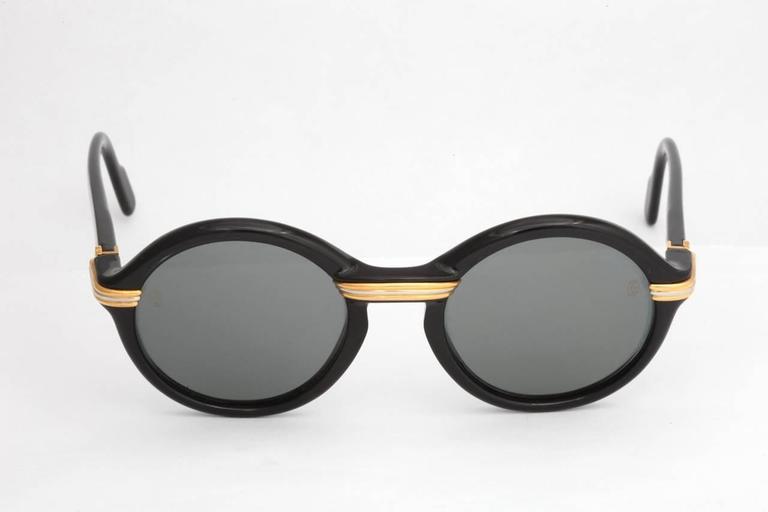 Classic Vintage Cartier Cabriolet Sunglasses