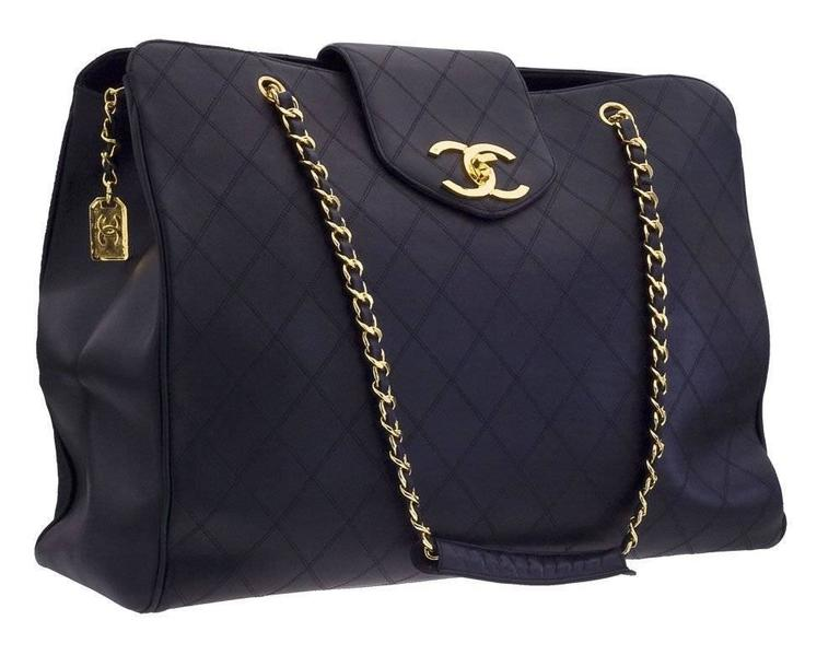 Chanel Quilted Overnight Bag 2