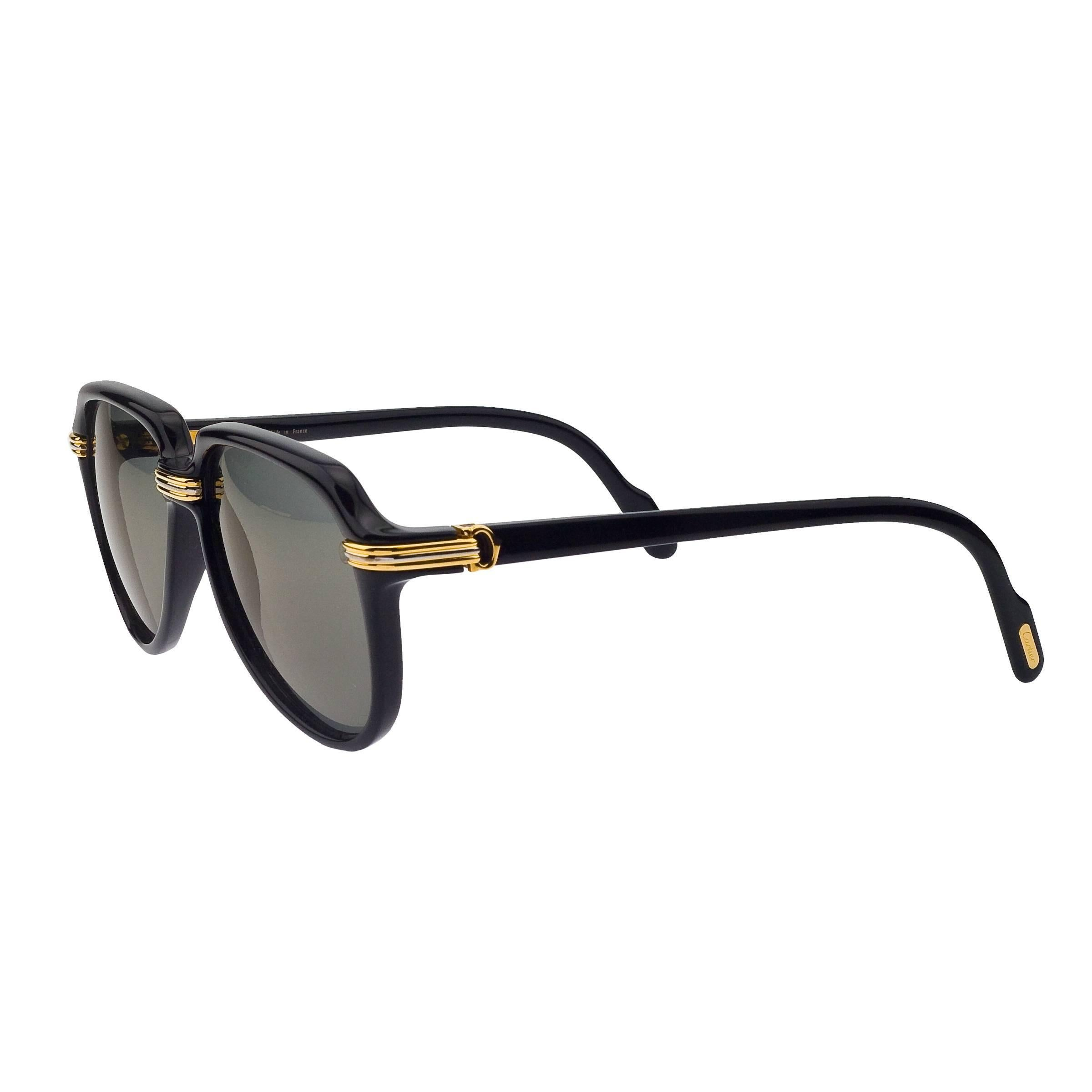 ad5ae0e13b Vintage Cartier Sunglasses - 156 For Sale at 1stdibs