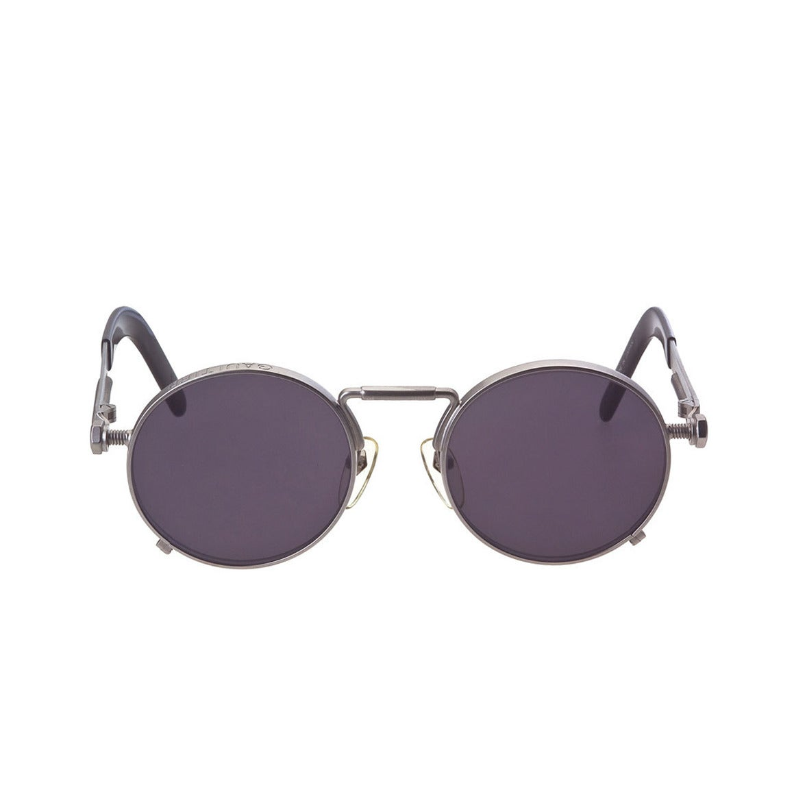 1beceeae015 Jean Paul Gaultier 56-8171 Silver Sunglasses For Sale at 1stdibs