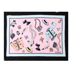 Chanel Rare 1996 Pink Beach Towel Never Been Used